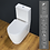 Thumbnail: Toilet WC Cloakroom Close Coupled Comfort Height