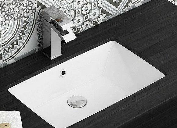 Bathroom Basin Sink Vanity Ceramic Under Countertop