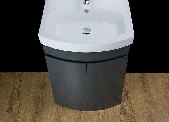 Vanity Unit Cabinet Basin Sink Ceramic Floor standing 500MM
