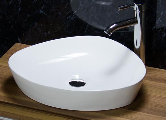 Basin Sink Bowl Ceramic Countertop 500