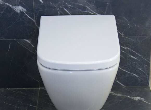 Toilet WC Wall hung mounted Soft Close Seat