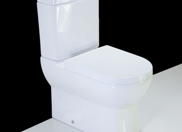 Toilet WC Close Coupled Compact