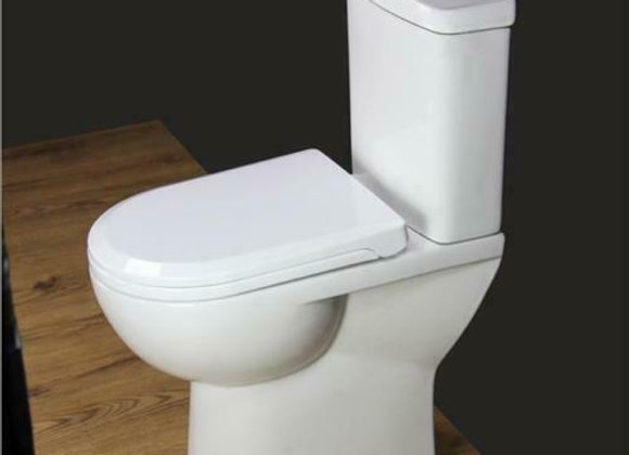 Toilet WC Close Coupled Bathroom Compact