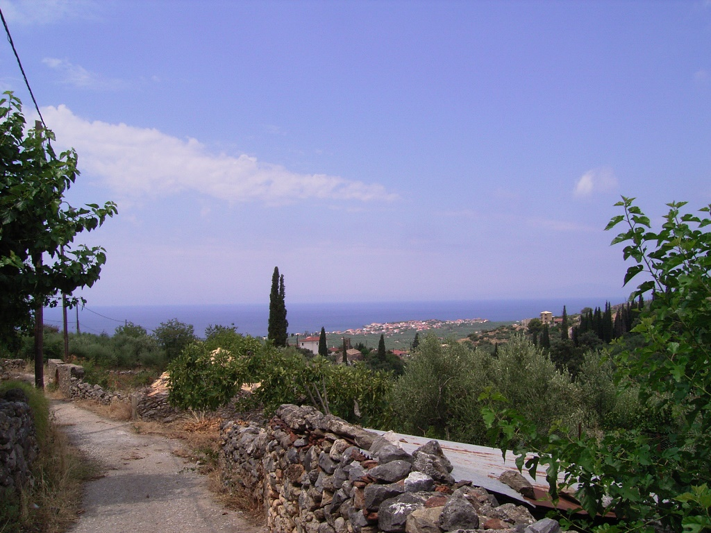 Road down from Ano Riglia
