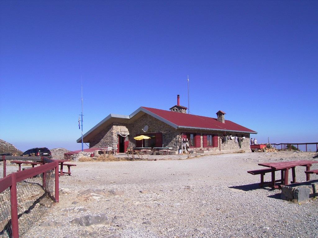 Kallerghi hut