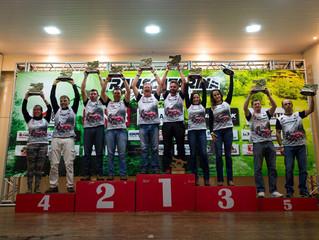 Trancos & Barrancos fica em primeiro lugar na classificação geral e no pódio no segundo dia de T