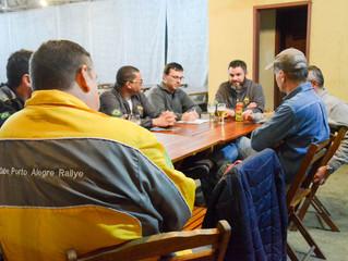 Reunião da Trancos & Barrancos e CPR organiza homenagens à Rogério Koch