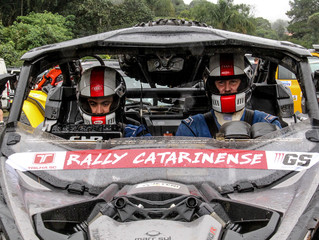 Trancos & Barrancos vence nos UTVs e é vice na Graduados na abertura do Catarinense de Rally