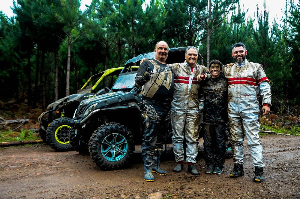 Jorge, Aurélio, Lorenzo e Tiago | Crédito: Aline Ben