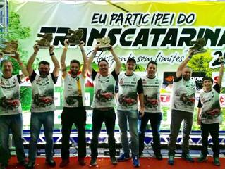 Trancos & Barrancos encerra mais um Transcatarina trazendo troféus para o Rio Grande do Sul