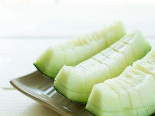 Receita de suchá de melão e chá branco