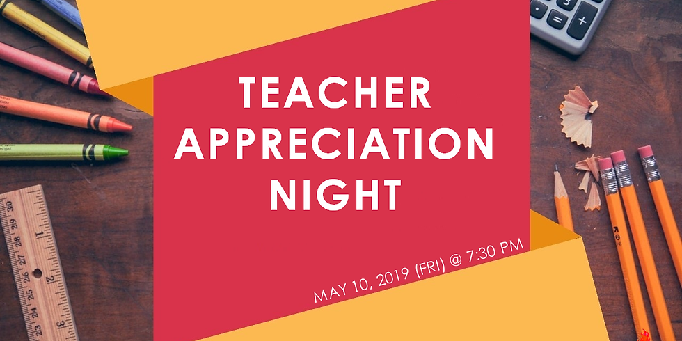 Youth Teacher's Appreciation Night