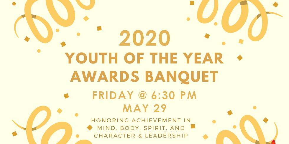 Youth Banquet: Awards Day