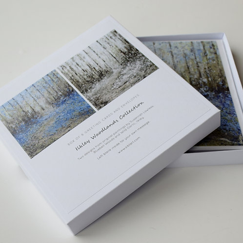 Ilkley Woodlands Greeting Card Gift Set