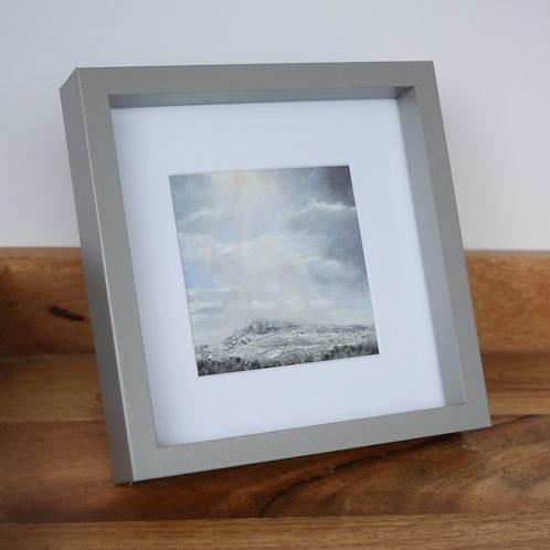 Framed giclee print - Snow on Ilkley Moor giclee print