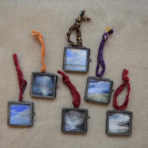 Seascape mini framed giclee prints