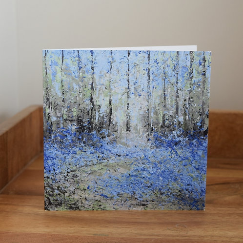 Greeting card - Bluebell Woods