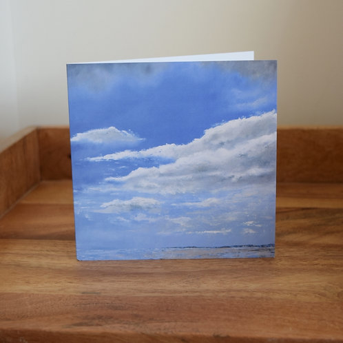 Greeting card - Solway Sky