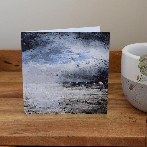 Greeting card - Solway Storm