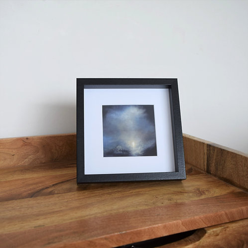 Framed giclee print - Solace