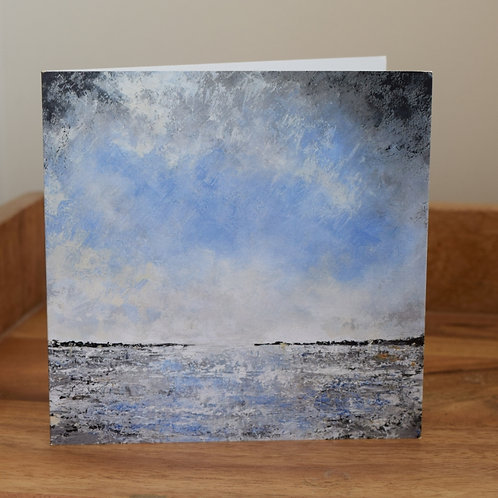 Greeting card - Seascape