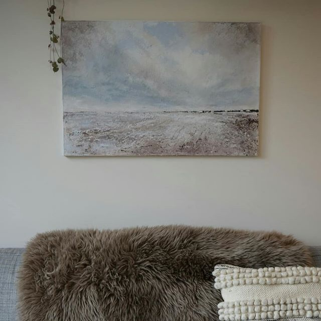 I dropped this seascape off at the stunning _covetilkley yesterday