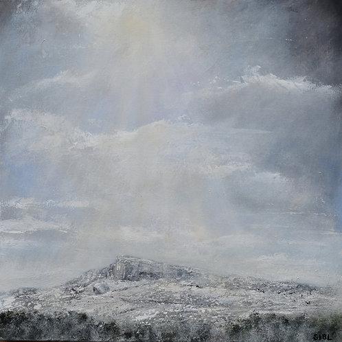Snow on Ilkley Moor