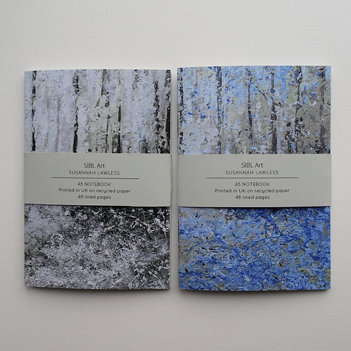 Bluebell Woods / Wild Garlic notebook