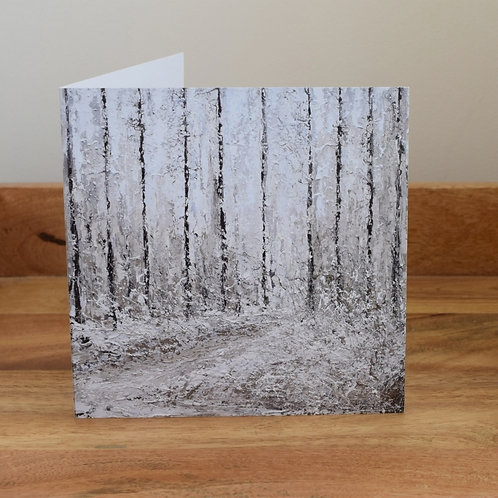 Greeting card - Winter Walk