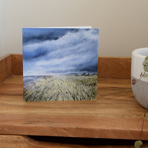 Greeting card - On the Dunes