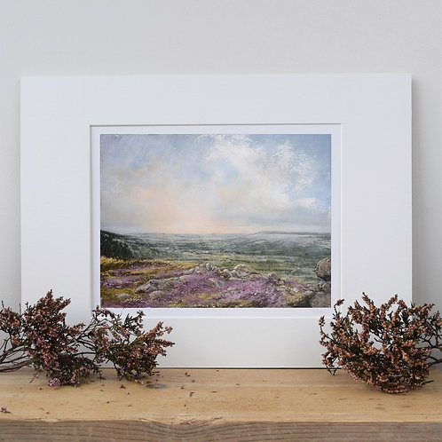 Our tomorrows, Ilkley Moor - two sizes