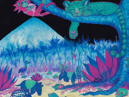 glass beach fans unite! A new glass beach remix album [alchemist rats beg bashful (remixes) review]