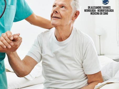 Quando suspeitar que um idoso com alterações cognitivas pode apresentar descargas epiléticas?