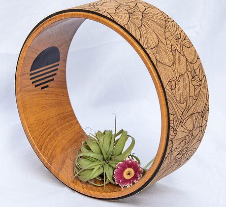 Cork Yoga Wheel