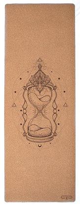 Cork Yoga Mat - Hour Glass