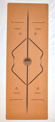 Cork Yoga Mat - Alignment