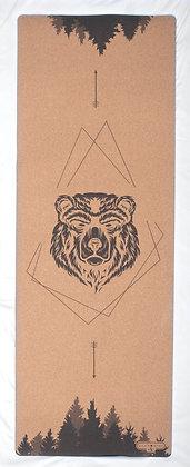 Cork Yoga Mat - Bear