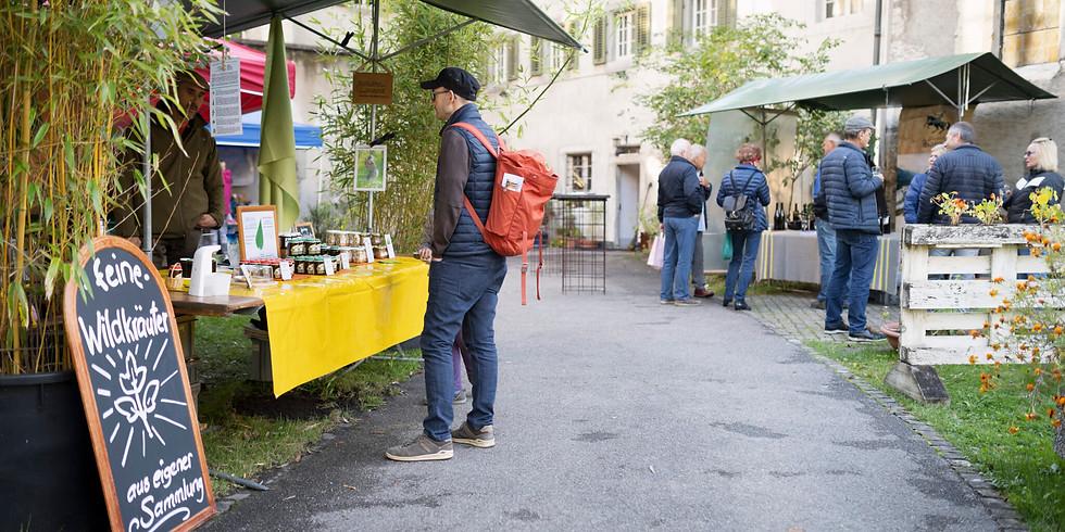 «Natürlich im Kloster» – Markt der Schweizer Kleinproduzent.innen