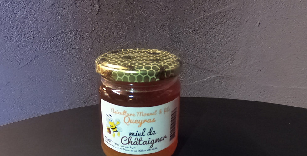 Miel de Chataignier 250g