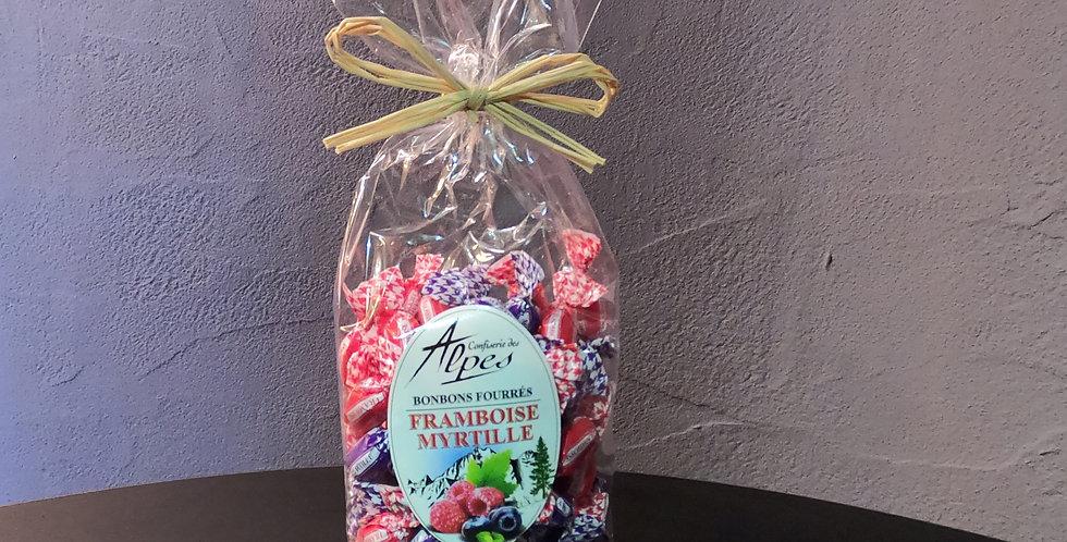 Bonbons Maffren Fourrés Framboise/Myrtille 150g