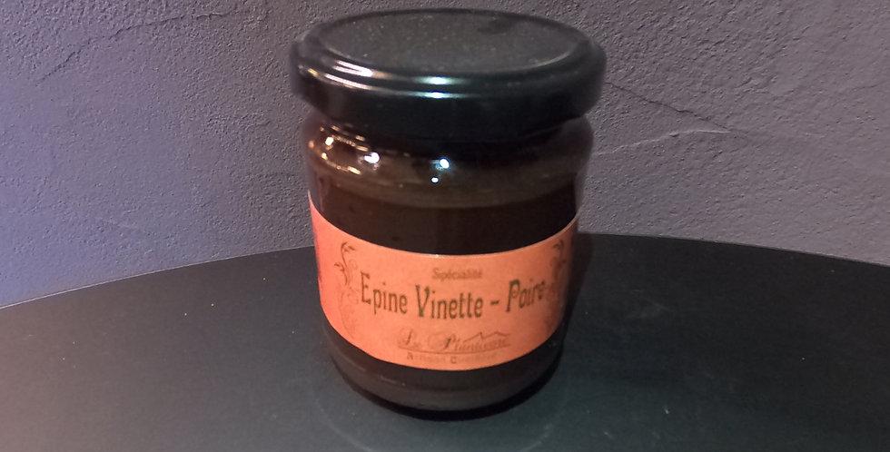 Confiture du Queyras Plantivore Epine Vinette/Poire 220g
