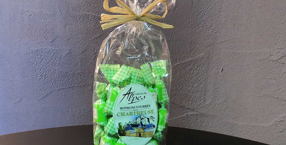 Bonbons Maffren Fourrés Chartreuse 150g (Avec Alcool)