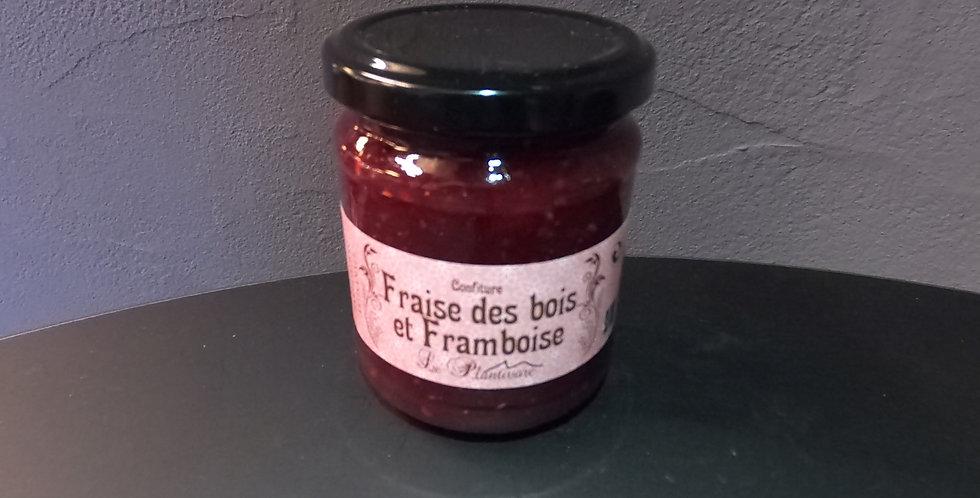 Confiture du Queyras Plantivore Fraise des Bois/Framboise 220g