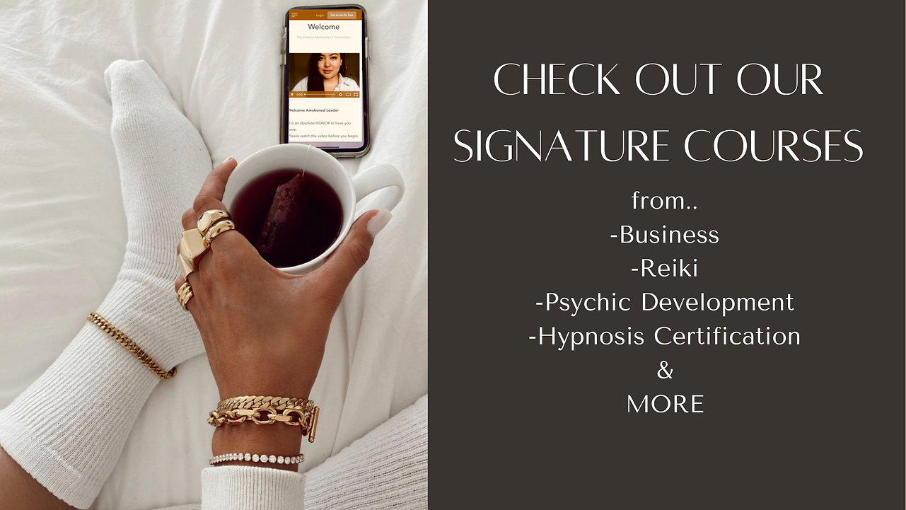 nathaly intuition psychic business hypnosis certification