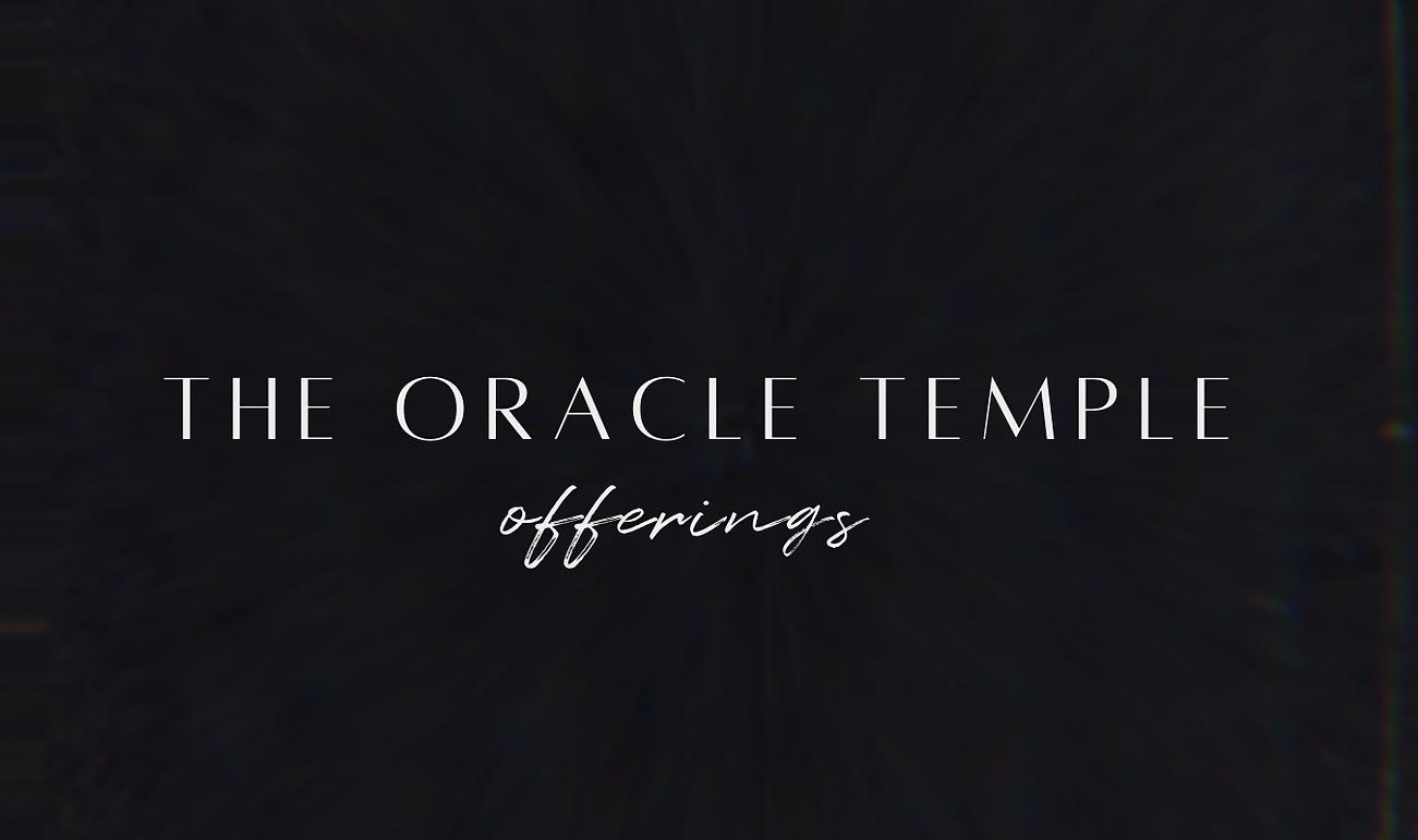 oracle temple membership