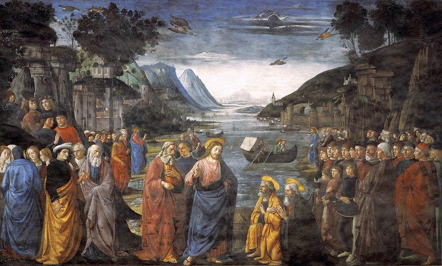 Ghirlandaio,_Domenico_-_Calling_of_the_A