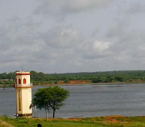 Hessarghatta lake tower near Earth Kitchen homestay farmstay