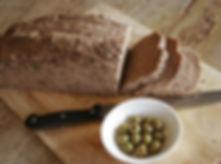 Fresh baked multigrain bread at Earth Kitchen homestay farmstay