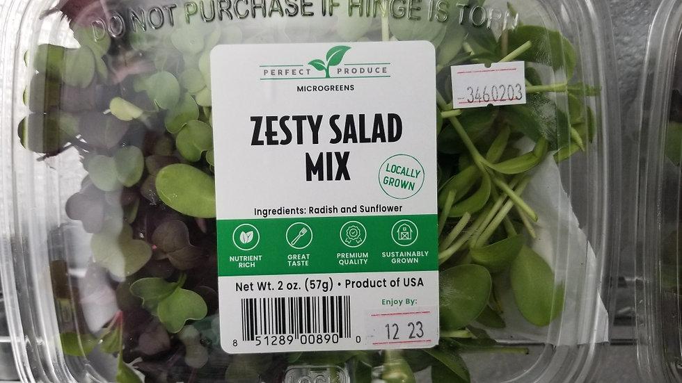Zesty Salad Mix Microgreens