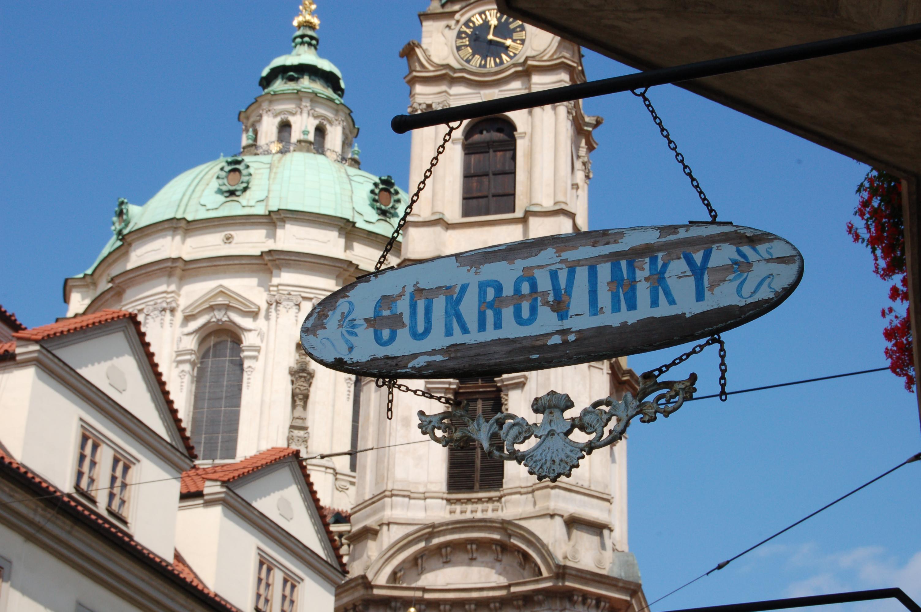Cukrárna v Praze